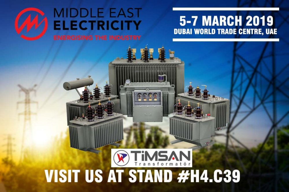 5-7 Mart 2019 MIDDLE EAST ELECTRİCİTY FUARI